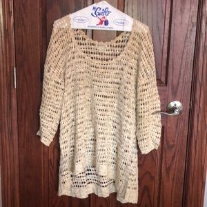 Women's cover up sweater